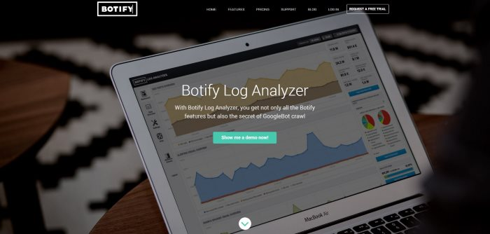 Botify log analyzer