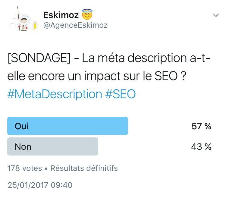 La meta description a-t-elle un impact sur le SEO ?