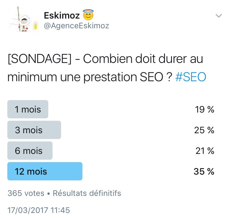 Quelle est la duree minimum d une prestation SEO ?